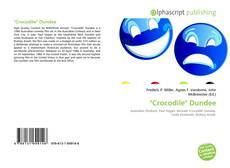 """Buchcover von """"Crocodile"""" Dundee"""