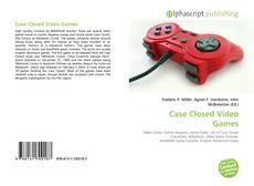Portada del libro de Case Closed Video Games