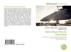Korat Royal Thai Air Force Base的封面
