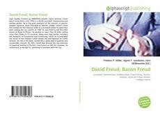 Buchcover von David Freud, Baron Freud