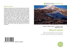 Bookcover of Mount Imeon