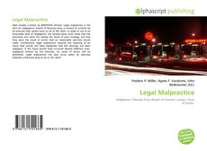 Bookcover of Legal Malpractice