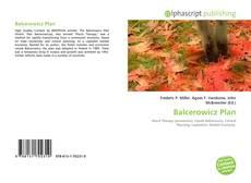 Bookcover of Balcerowicz Plan