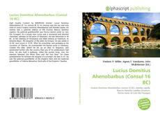 Bookcover of Lucius Domitius Ahenobarbus (Consul 16 BC)