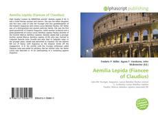 Buchcover von Aemilia Lepida (Fiancee of Claudius)