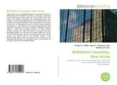 Capa do livro de Bethlehem Township, New Jersey