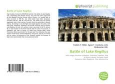 Portada del libro de Battle of Lake Regillus