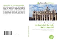 Bookcover of Cathedral of the Holy Name, Mumbai
