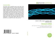 Couverture de Ancient DNA