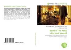 Обложка Boston Tea Party (Concert Venue)