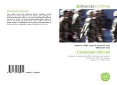 Lieutenant Colonel kitap kapağı
