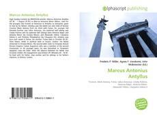 Couverture de Marcus Antonius Antyllus