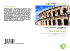 Bookcover of Claudia Antonia