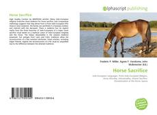 Horse Sacrifice kitap kapağı