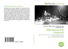 Bookcover of 19th Avenue (San Francisco)