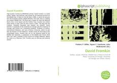 Bookcover of David Fromkin
