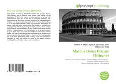 Bookcover of Marcus Livius Drusus (Tribune)