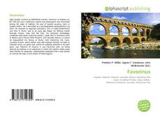 Bookcover of Favorinus