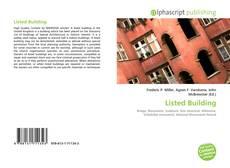 Listed Building kitap kapağı