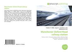 Обложка Manchester Oxford Road railway station