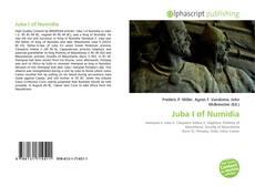 Bookcover of Juba I of Numidia