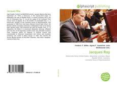 Capa do livro de Jacques Roy