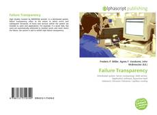 Copertina di Failure Transparency