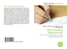Bookcover of Parti Travailliste (Royaume-Uni)