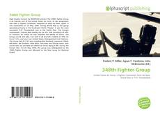 Bookcover of 348th Fighter Group