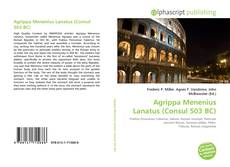 Couverture de Agrippa Menenius Lanatus (Consul 503 BC)