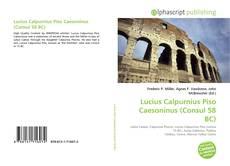 Lucius Calpurnius Piso Caesoninus (Consul 58 BC) kitap kapağı