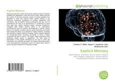 Buchcover von Explicit Memory