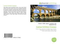 Portada del libro de Lucius Licinius Crassus