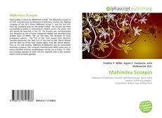 Borítókép a  Mahindra Scorpio - hoz