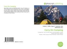 Bookcover of Carry On Camping