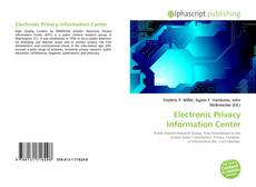 Bookcover of Electronic Privacy Information Center