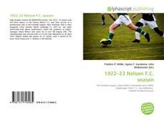 Buchcover von 1922–23 Nelson F.C. season