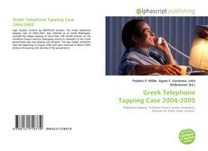 Buchcover von Greek Telephone Tapping Case 2004-2005