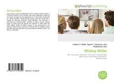 Mickey Miller kitap kapağı