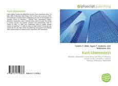 Bookcover of Kurt Löwenstein