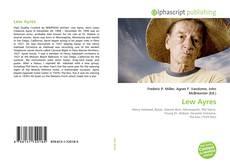 Capa do livro de Lew Ayres