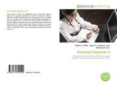 Couverture de Internet Explorer 3