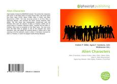 Bookcover of Alien Characters
