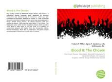 Couverture de Blood II: The Chosen