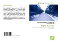 Portada del libro de Ligne d'Univers