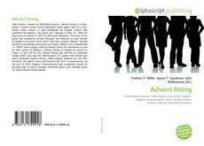 Capa do livro de Advent Rising