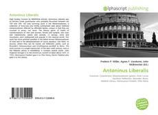Couverture de Antoninus Liberalis