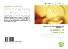 Bookcover of Dénotation et Connotation