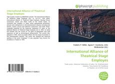 Portada del libro de International Alliance of Theatrical Stage Employes