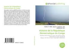 Histoire de la République Démocratique du Congo kitap kapağı